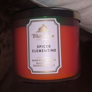 Bath and Body Works Spiced Clementine Candle